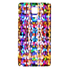 Bokeh Abstract Background Blur Galaxy Note 4 Back Case