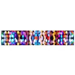 Bokeh Abstract Background Blur Flano Scarf (small)