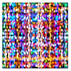 Bokeh Abstract Background Blur Large Satin Scarf (square)