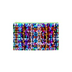 Bokeh Abstract Background Blur Cosmetic Bag (xs)