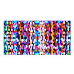 Bokeh Abstract Background Blur Satin Shawl