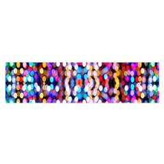 Bokeh Abstract Background Blur Satin Scarf (Oblong)