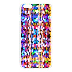 Bokeh Abstract Background Blur Apple Seamless iPhone 6 Plus/6S Plus Case (Transparent)