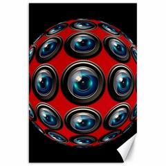 Camera Monitoring Security Canvas 20  X 30