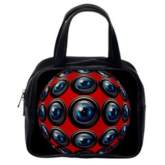Camera Monitoring Security Classic Handbags (One Side)
