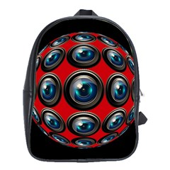 Camera Monitoring Security School Bags(large)
