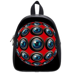 Camera Monitoring Security School Bags (Small)