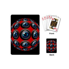 Camera Monitoring Security Playing Cards (Mini)