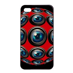 Camera Monitoring Security Apple iPhone 4/4s Seamless Case (Black)