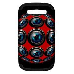 Camera Monitoring Security Samsung Galaxy S Iii Hardshell Case (pc+silicone)
