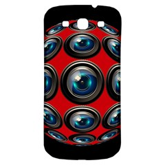 Camera Monitoring Security Samsung Galaxy S3 S Iii Classic Hardshell Back Case