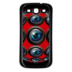 Camera Monitoring Security Samsung Galaxy S3 Back Case (black)