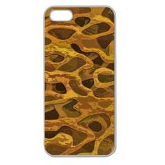 Camo Apple Seamless Iphone 5 Case (clear)