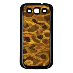 Camo Samsung Galaxy S3 Back Case (black)