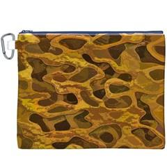Camo Canvas Cosmetic Bag (XXXL)