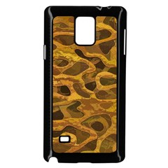 Camo Samsung Galaxy Note 4 Case (black)