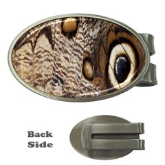 Butterfly Wing Detail Money Clips (oval)