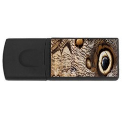 Butterfly Wing Detail USB Flash Drive Rectangular (1 GB)