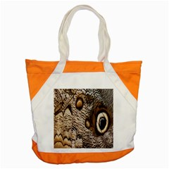 Butterfly Wing Detail Accent Tote Bag