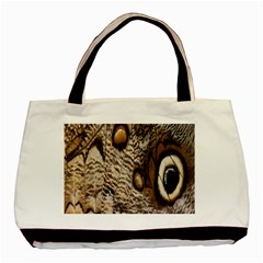 Butterfly Wing Detail Basic Tote Bag (Two Sides)