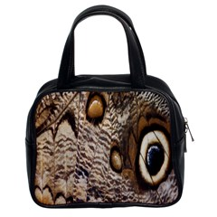 Butterfly Wing Detail Classic Handbags (2 Sides)