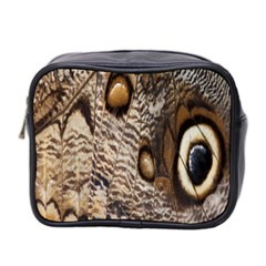 Butterfly Wing Detail Mini Toiletries Bag 2-Side