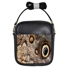 Butterfly Wing Detail Girls Sling Bags