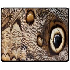 Butterfly Wing Detail Fleece Blanket (Medium)