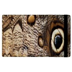 Butterfly Wing Detail Apple Ipad 3/4 Flip Case