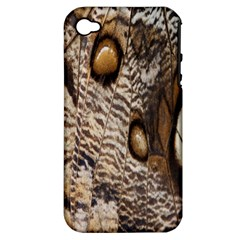 Butterfly Wing Detail Apple iPhone 4/4S Hardshell Case (PC+Silicone)