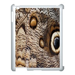 Butterfly Wing Detail Apple Ipad 3/4 Case (white)