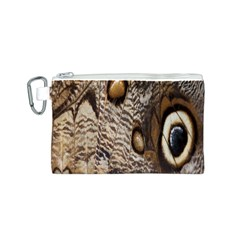 Butterfly Wing Detail Canvas Cosmetic Bag (s)