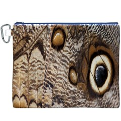Butterfly Wing Detail Canvas Cosmetic Bag (xxxl)
