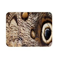 Butterfly Wing Detail Double Sided Flano Blanket (Mini)
