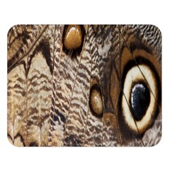 Butterfly Wing Detail Double Sided Flano Blanket (large)