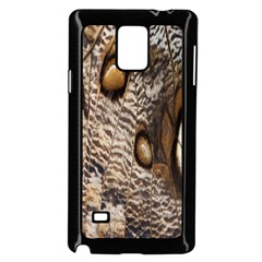 Butterfly Wing Detail Samsung Galaxy Note 4 Case (Black)