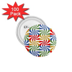 Candy Pattern  1.75  Buttons (100 pack)