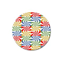 Candy Pattern  Magnet 3  (Round)