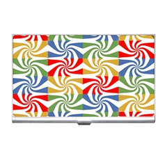 Candy Pattern  Business Card Holders