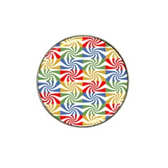 Candy Pattern  Hat Clip Ball Marker