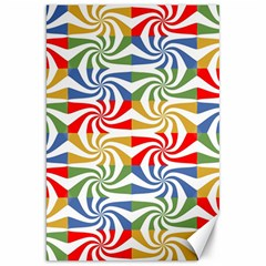 Candy Pattern  Canvas 20  x 30