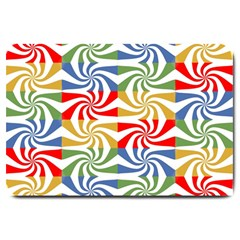 Candy Pattern  Large Doormat