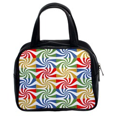 Candy Pattern  Classic Handbags (2 Sides)