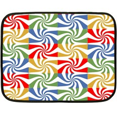 Candy Pattern  Fleece Blanket (Mini)