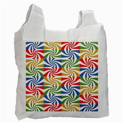 Candy Pattern  Recycle Bag (One Side)