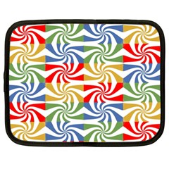 Candy Pattern  Netbook Case (XL)