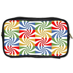 Candy Pattern  Toiletries Bags 2-Side