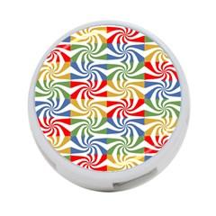 Candy Pattern  4 Port Usb Hub (two Sides)