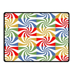 Candy Pattern  Fleece Blanket (Small)