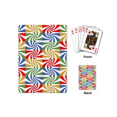 Candy Pattern  Playing Cards (Mini)